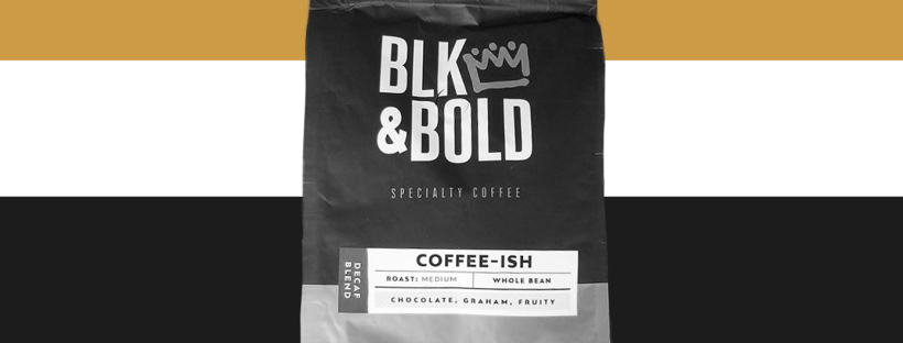 blk & bold coffee bag